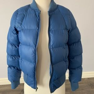 BB Dakota Blue Puffer Jacket